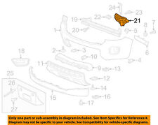 GM OEM Front Bumper-Filler Right 23450922