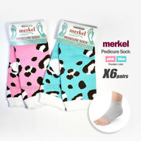 Merkel Pedi-Socks with open Toe for exercise x 6 Pair *Chose any one*