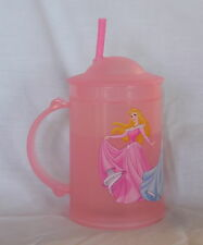 New Disneyland Disney Princess Insulated Freeze Sip Mug Cup Pink