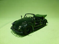 VICTORIA  VW VOLKSWAGEN KAFER CONVERTIBLE - MILITARY GREEN - NM - MADE IN P.R.C.