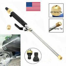 Arandela de alimentación de alta presión Agua Spray Gun Boquilla Varita Accesorio de manguera de jardín nos
