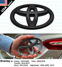 For Toyota Camry Corolla Highlander Rav4 Yaris Rear Overlay Add-On Logo Emblem (Fits: Toyota)