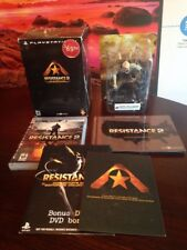 Resistance 2 - Collector's Edition (Sony PlayStation 3, 2008)  PS3  **COMPLETE**