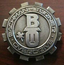 BACHMAN-TURNER OVERDRIVE BELT BUCKLE - 1975 PROMO BTO