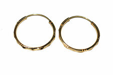 Gold Plated Hoop Style Earring for Women and Girls