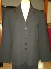 WOMENS Sz 12 black TARGET buttoned front formal jacket LOVELY!