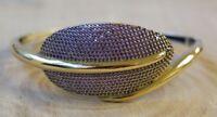 Turkish Handmade Jewelry Sterling Silver 925 Amethyst Bracelet Bangle Cuff