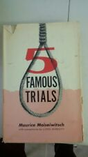 Famous trails 1962  by Maurice Moiseiwitsch (Author), Lord Birkett (Collaborator