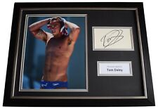 Tom Daley Signed Framed Photo Autograph 16x12 display Olympic Diving COA