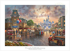 Thomas Kinkade Disneyland® 60th Anniversary – 18x27 S/N Limited Edition Paper