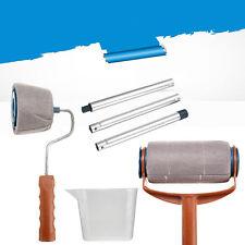 New Paint Handle Flocked Roller Brush Runner Wall Painting Edger Room 6Pcs/set