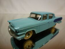 DINKY TOYS 179 STUDEBAKER PRESIDENT -  TWO TONE BLUE  1:43 - VERY GOOD CONDITION