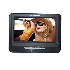 """Sylvania SDVD9957 9"""" Dual Screen Portable DVD Player, Black"""