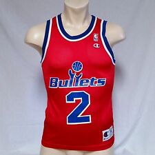 VTG Champion Jersey Chris Webber Washington Bullets 90's Throwback Size 36