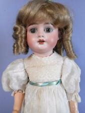 "20"" Armand Marseille Bisque German Doll AM5 DEP Antique 1890s early 1900s w/case"