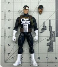 "1/12 scale Marvel Legends 6"" figure Walgreen series Punisher with weapons set"
