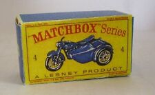 Repro Box Matchbox 1:75 Nr.04 Triumph and Sidecar