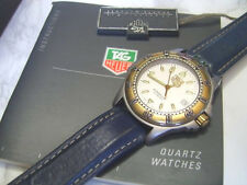 NOS TAG HEUER PROFESSIONAL 200 METERS MEN'S QUARTZ STEEL 2 TONE WI 1110    *6598