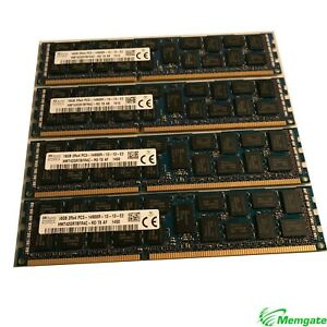 64GB (4x16GB) PC3-14900 DDR3 1866 ECC Memory for Apple Mac Pro 2013 ME253LL/A
