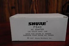 Shure PS40 AC Adapter