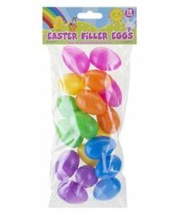 Easter Filler Eggs 18 Pack 4.5 x 3 cm Perfect for Easter Egg Hunts
