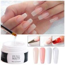 Transparent Extension Acrylic Art Crystal UV Gel Poly Polygels Nails Kit W4N9