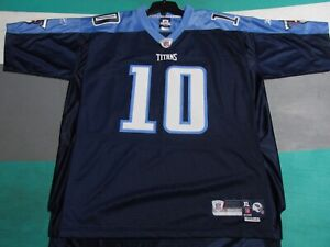 NWT Tennesse Titans Premier SEWN Vince Young Blue Reebok Jersey Adult XL