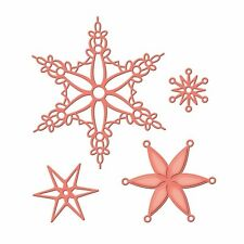 SPELLBINDERS Shapeabilities SNOWFLAKE BLISS 4 Dies S4-433 Christmas Collection