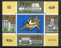 32558) HUNGARY 1980 MNH** European Security Conf. S/S