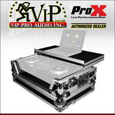 ProX Xs-Mixdeckwlt Numark MixDeck Quad Controller Case w/ Laptop Shelf & Wheels