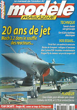 MODELE MAG N°638 PLAN : DOUGLAS M3 / T6 / BUCKER / MINI CYCLON / DRAGON FLY