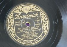 78rpm DANNY KAYE ANDREWS SISTERS put em in a box tie em ribbon / run run run