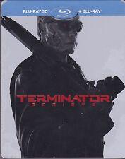 Terminator Genisys BLU-RAY 2D + 3D STEELBOOK REGION FREE AUDIO: ENG RUSSIAN THAI
