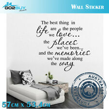 Motivational Wall Stickers Removable Best Thing In Life Living Room Decal Decor