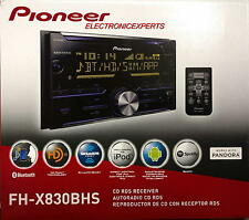 Pioneer FH-X830BHS Double Din CD/USB/HD Radio/EQ/Bluetooth iPod iPhone Android