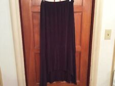 Chico's Travelers SZ 3  XL Slinky Stretch Brown Skirt Barely Worn