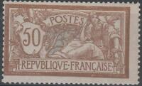 "FRANCE STAMP TIMBRE N° 120 "" TYPE MERSON 50c  BRUN ET GRIS 1900 "" NEUF xx A VOIR"