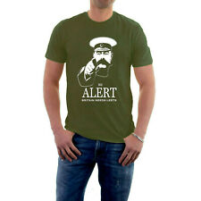 BE ALERT T-shirt BRITAIN NEEDS LERTS Lord Kitchener Army Spoof Social Distancing