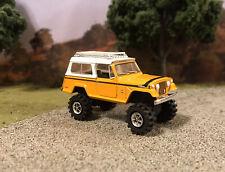 1971 Jeep Jeepster 4x4 Truck Lifted 1/64 Diecast Custom Farm Off Road Mudder 4WD
