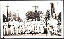 1930 APPLE BLOSSOM FESTIVAL MUSICAL INSTRUMENTS BAND WENATCHEE WASHINGTON PHOTO
