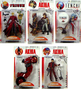 Japan 3D Animation Series 1 Action Figure Set of 5 New 2000 McFarlane Amricons