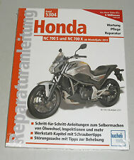 Reparaturanleitung Honda NC 700 S + NC 700 X, Baujahre ab 2012