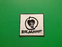 Rise Against Patch Punk Rock Heavy Metal Pop Music Sew/Iron On Badge
