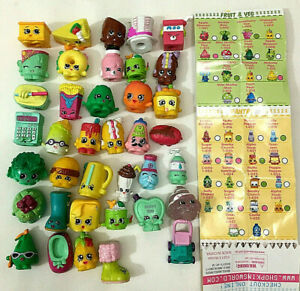 SHOPKINS Mixed Lot 39 PCs All Seasons Miniatures Collectible Toys  PAPER GUIDE