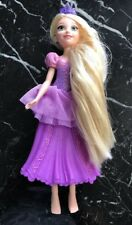 "Disney Tangled Bubble Rapunzel  Rubber Water Doll 11"" Doll Hasbro 2015"