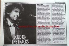 BOB DYLAN Hammersmith Odeon concert review 1991  UK ARTICLE / clipping