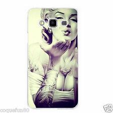 Coque Samsung Galaxy J 7 ( Modele 2016 ) + Verre Trempé - Marilyn Monroe