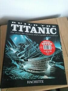1/250 Hachette Build The Titanic Model Ship folder unused
