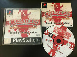 Crusaders Of Might & Magic Sony Playstation 1 PS1 PAL Complete  FREE UK P&P