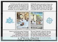 SAN MARINO 1989 -   EUROPA  CEPT   SERIE  NUOVA  ** FOGLIETTO
